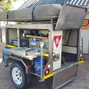 African Bush Wagons camping trailer rental